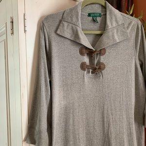 Ralph Lauren cotton knit dress GUC
